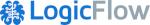 Logic flow Logo mit einem Link auf ihre Website.
