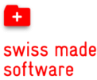 Swiss Made Software Logo  with a link to their website.